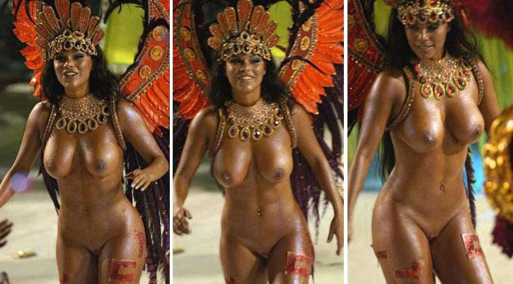 бразилия карнавал голая.
